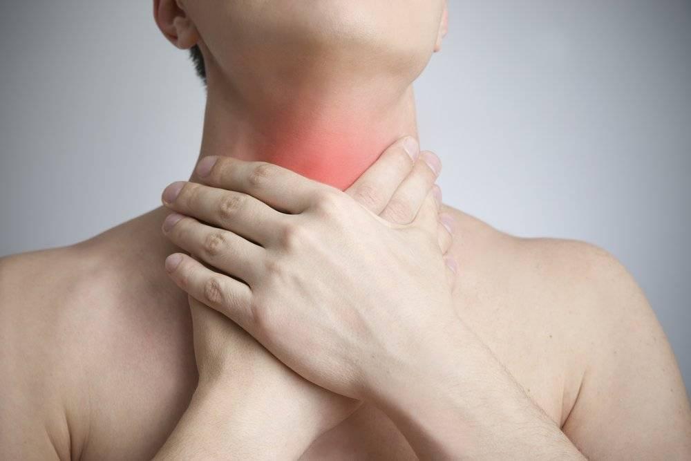 удушье при щитовидке у взрослых что делать