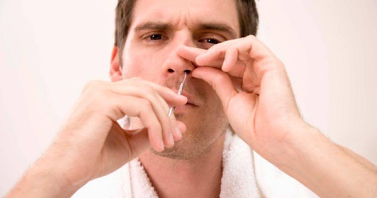 сухость в носу что делать