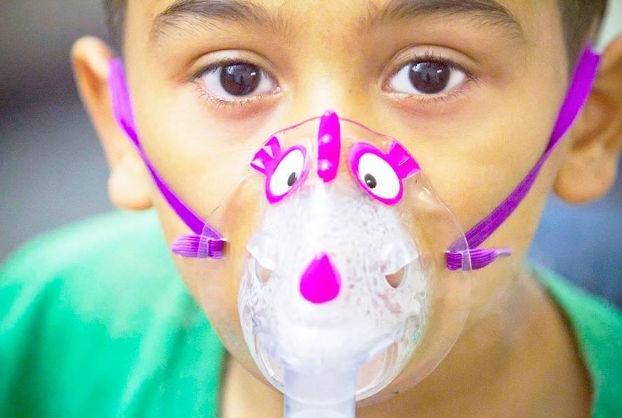 Ингаляции небулайзером при аденоидах у детей