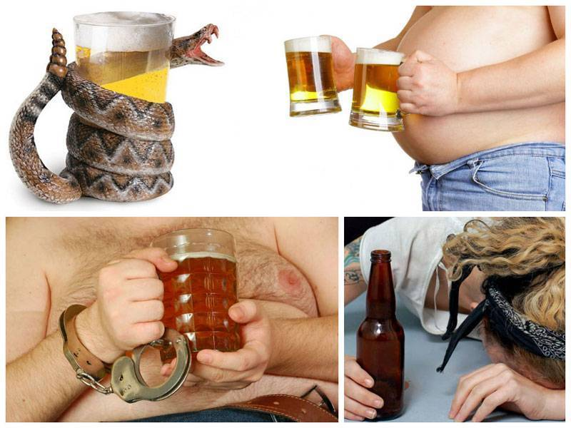 Пивной алкоголизм: симптомы, лечение у мужчин, женщин