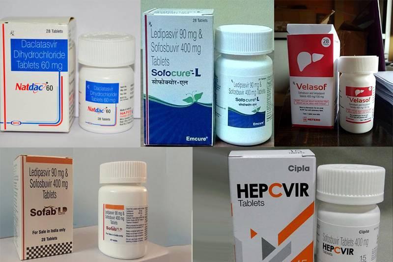 Безинтерфероновая и интерфероновая терапия гепатита с
