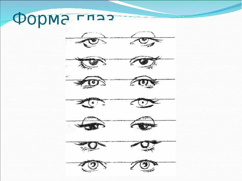 разрез глаза