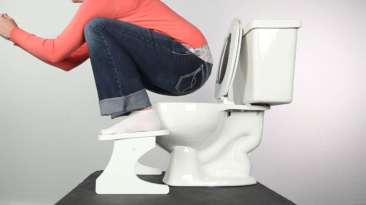 Как правильно ходить в туалет при геморрое