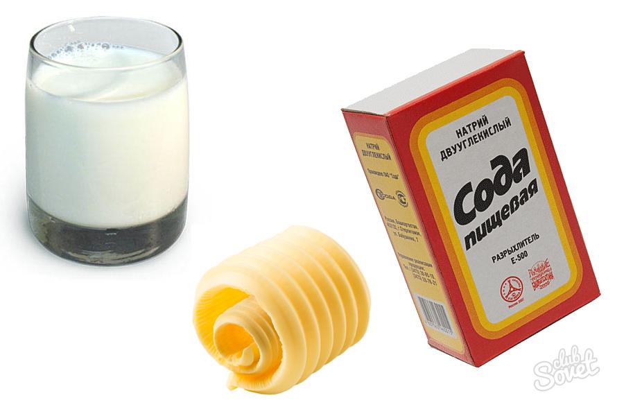 Молоко с медом и содой от кашля