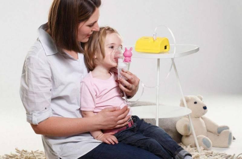 ингаляции от сухого кашля для детей
