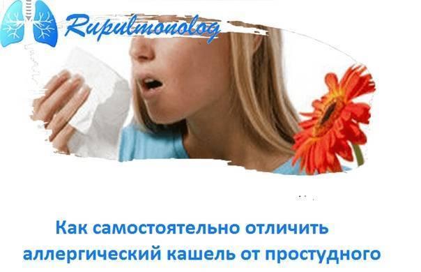 Как отличить аллергический насморк от простудного?