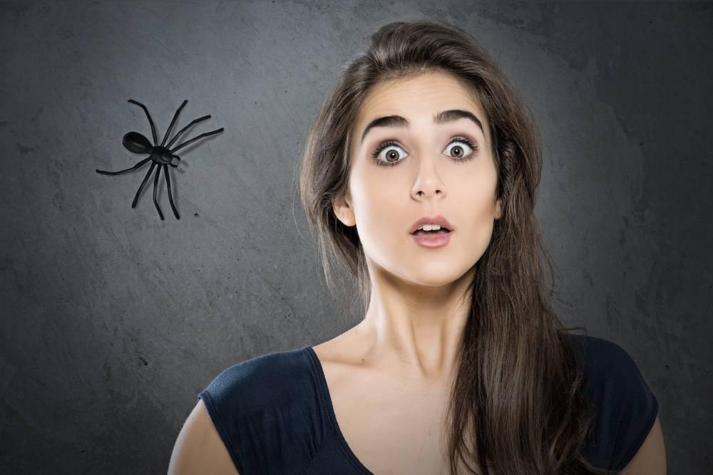 боязнь пауков называется фобия