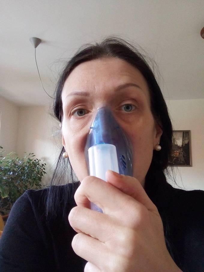 ингаляции для горла небулайзером рецепты