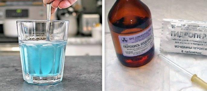 Промывание носа перекисью водорода: лечим насморк и гайморит