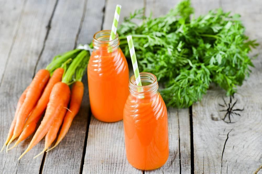 Сок моркови при насморке детям