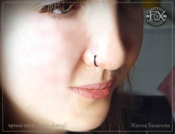Анатомия крыльев носа, болезни и их лечение