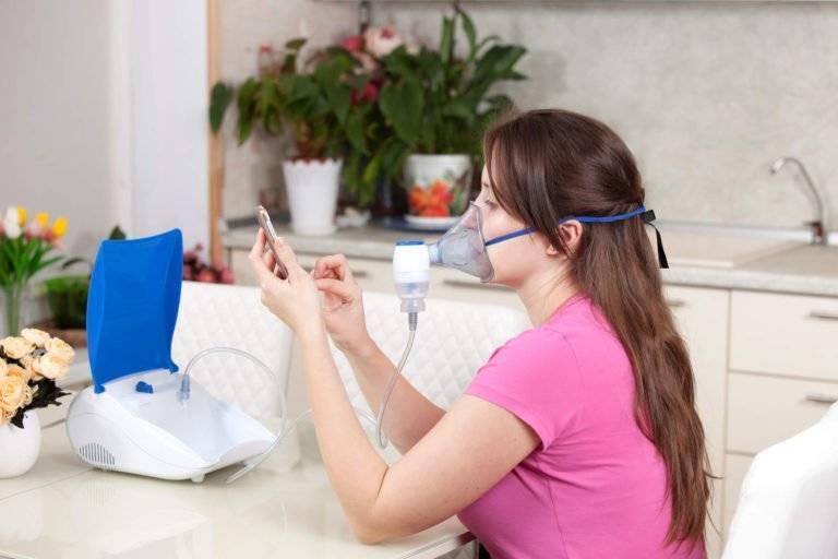 Как применять небулайзер для проведения ингаляций при ларингите