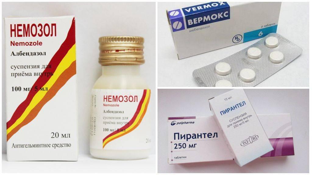 таблетки от паразитов для человека широкого спектра