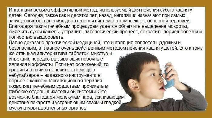 приступ кашля у ребенка как помочь