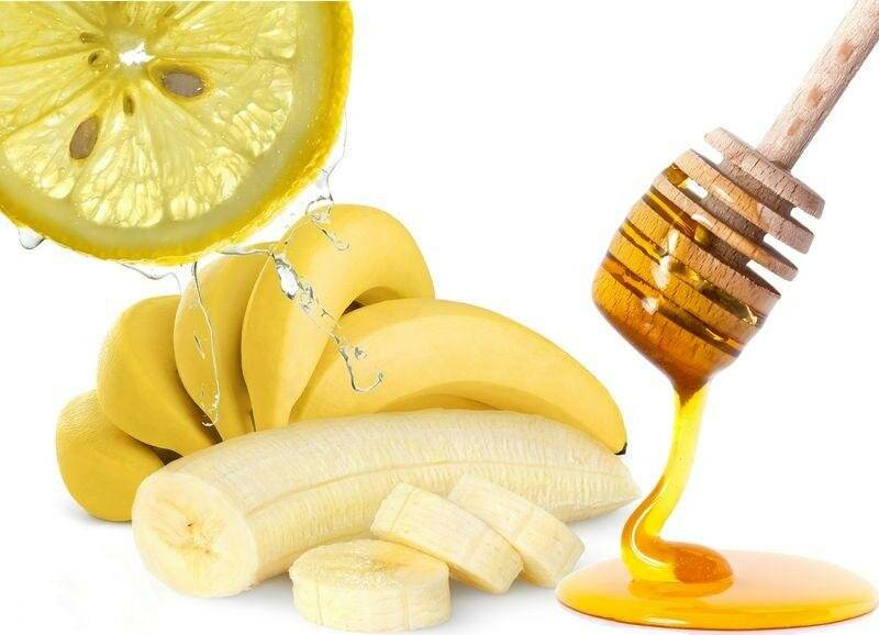 банан с медом от кашля рецепт