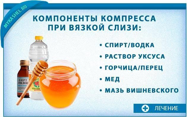 водочный компресс от кашля